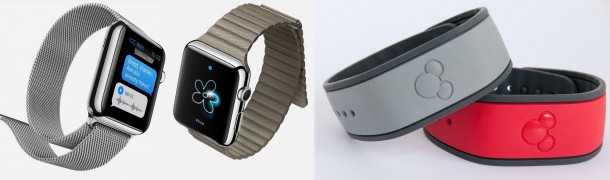 M.G. Siegler compared the Apple Watch to Disney's Magic Band